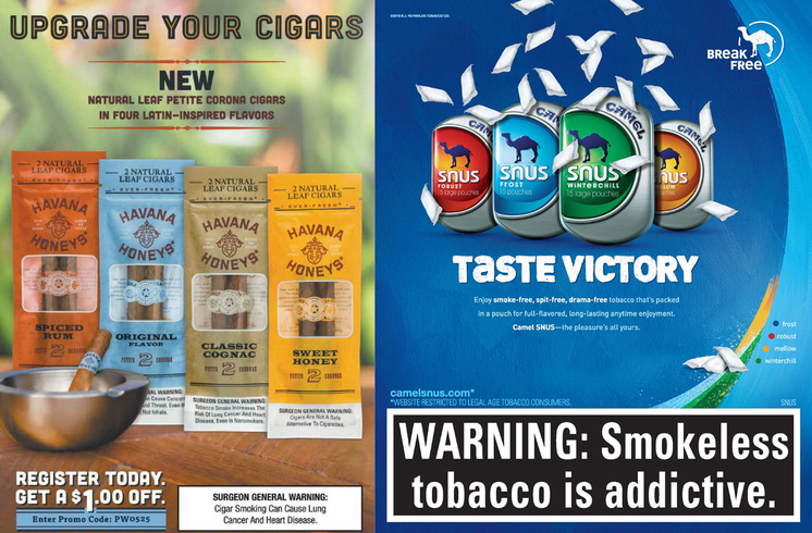 Flavored tobacco use among youth and young adults