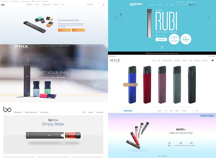 JUUL copycats are flooding the e-cigarette market