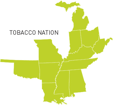 tobacco nation map