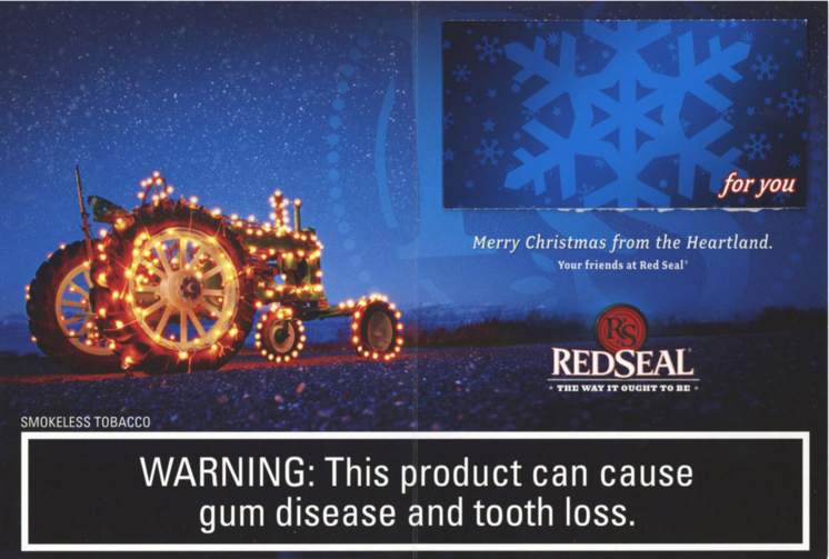 Red Seal christmas ad