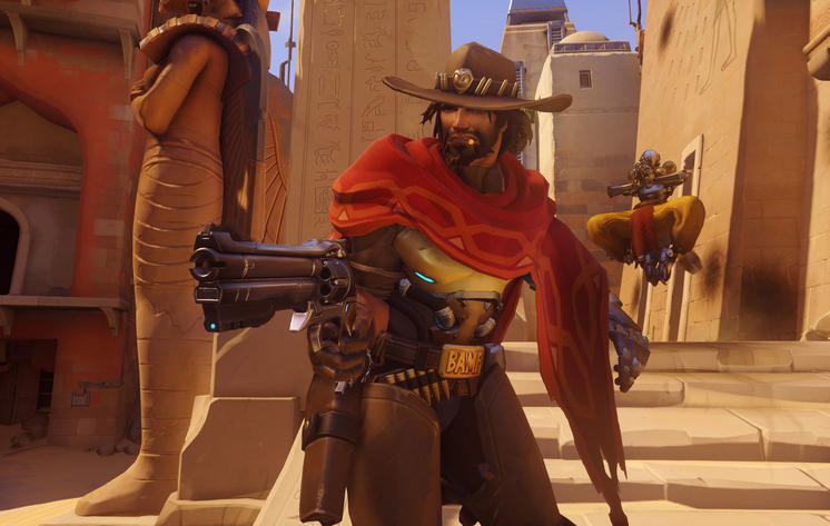 McCree Overwatch screenshot
