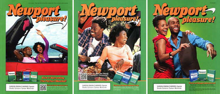 Newport ads african-american