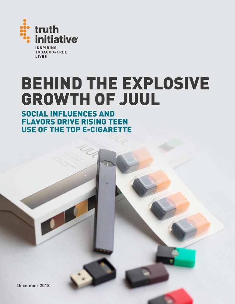 Behind the explosive growth of JUUL