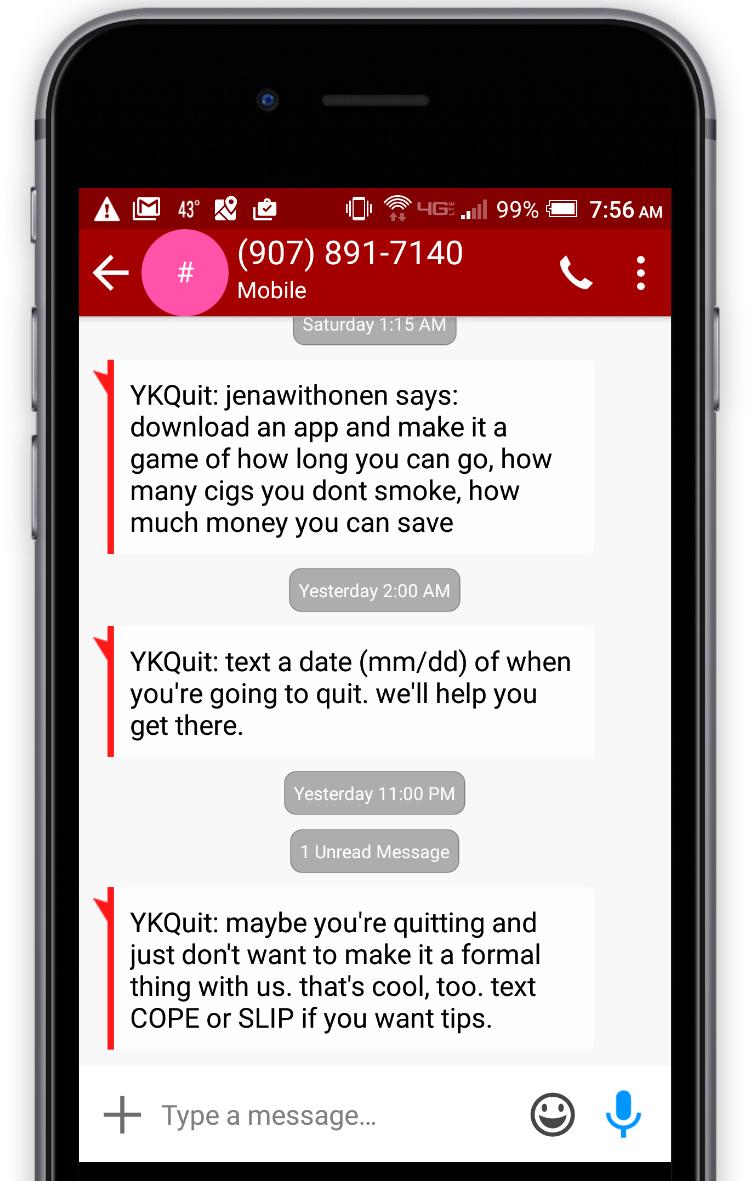 YKQuit Texts