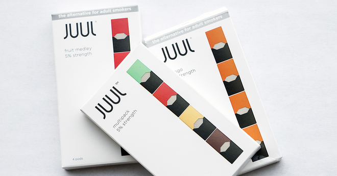 JUUL fails to remove all of youth's favorite flavors from stores