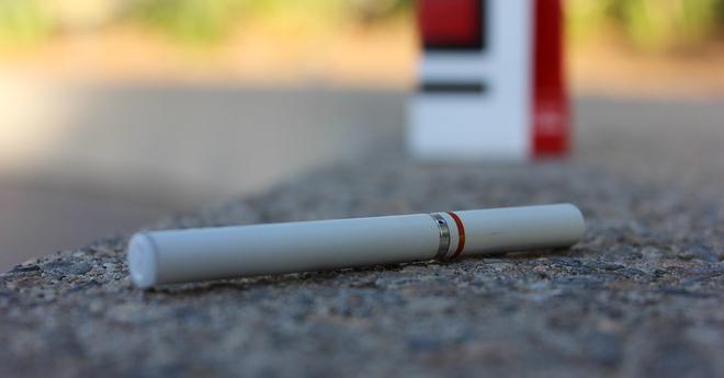 e-cigarette sidewalk