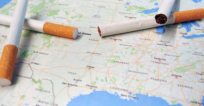 state map cigarettes