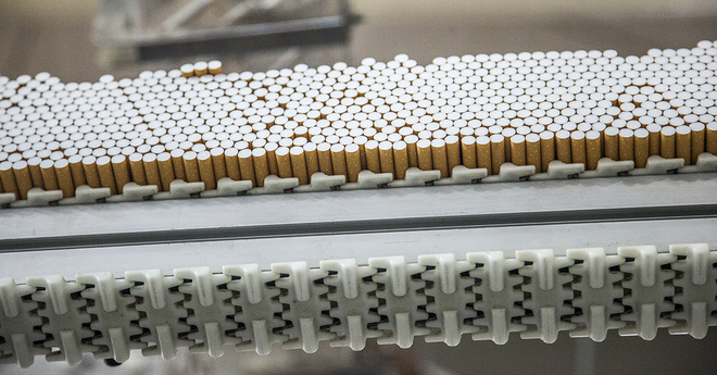 tobacco industry factory