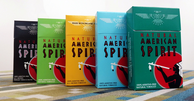 American Spirit Cigarette Packs