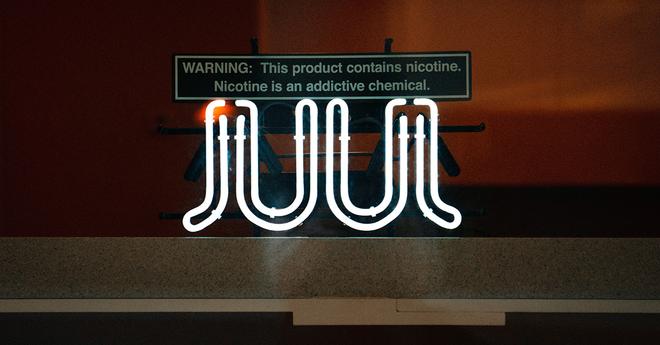 JUUL neon sign