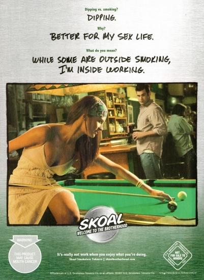 Skoal ad