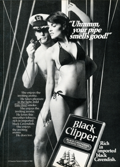 Black Clipper ad