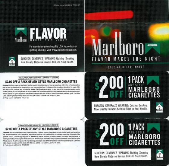 marlboro coupons direct mail