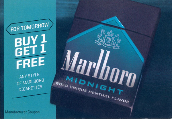 marlboro buy one get one free