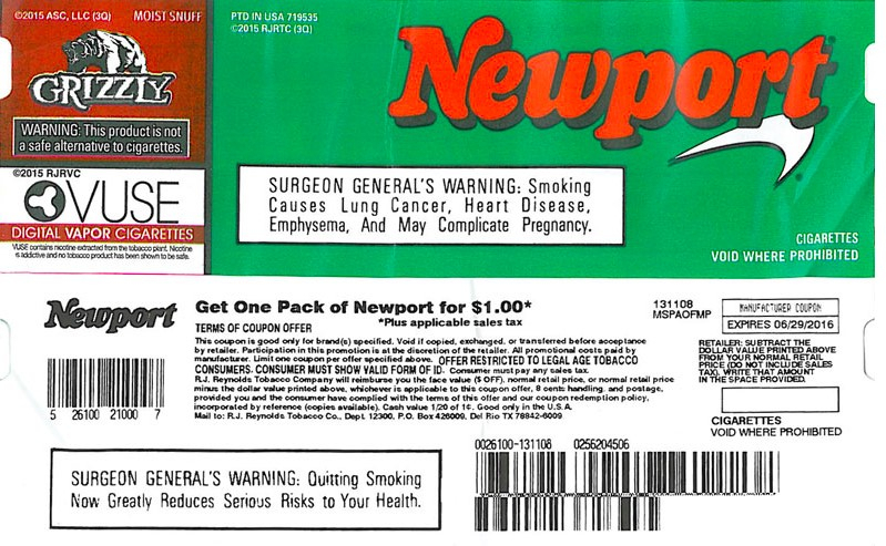 Tobacco coupons: How low can they go?