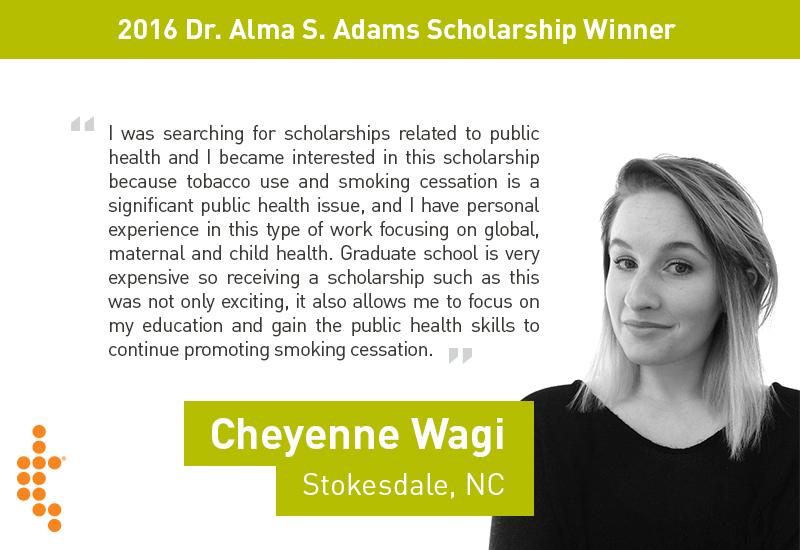 scholarship winner cheyenne wagi