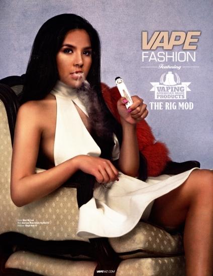 Vape fashion ad
