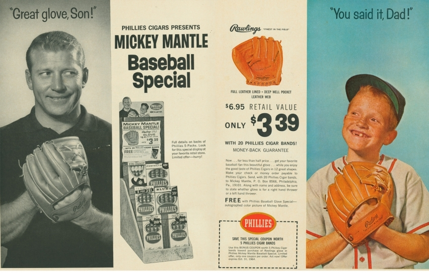 Mantle Phillies Ad