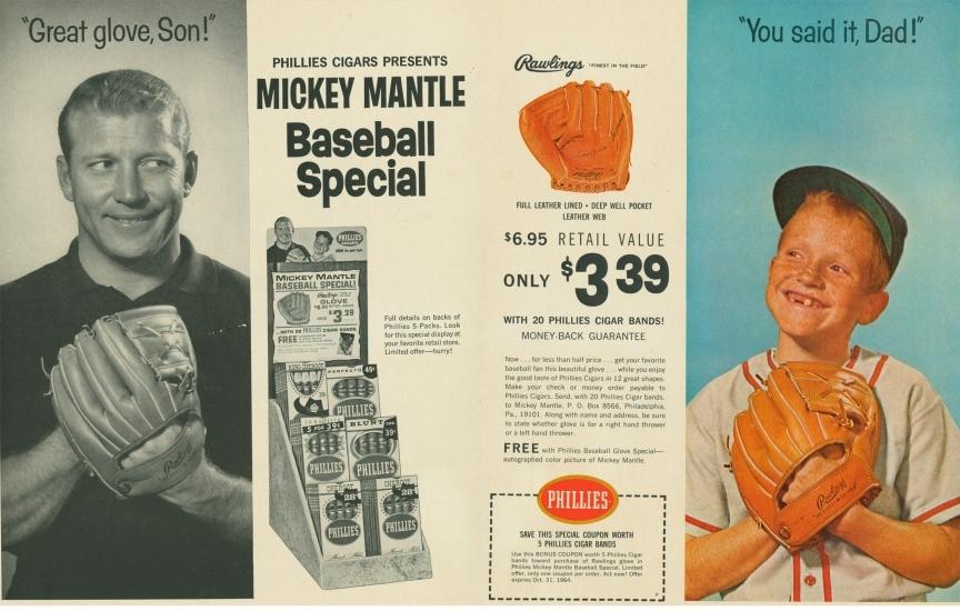 Mantle Phillies Ad