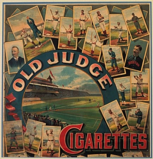 Old Judge Cigarette Ad