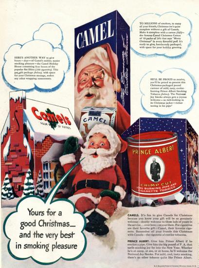 Santa Camel ad