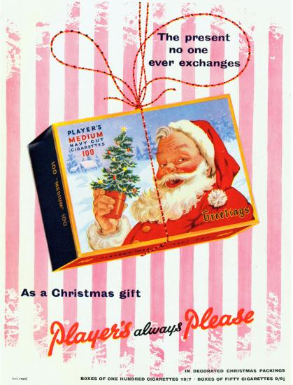 Santa Players ad