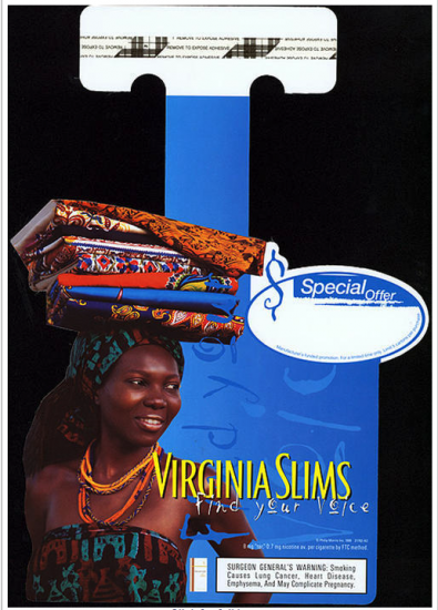 Virginia Slims Find your voice ad