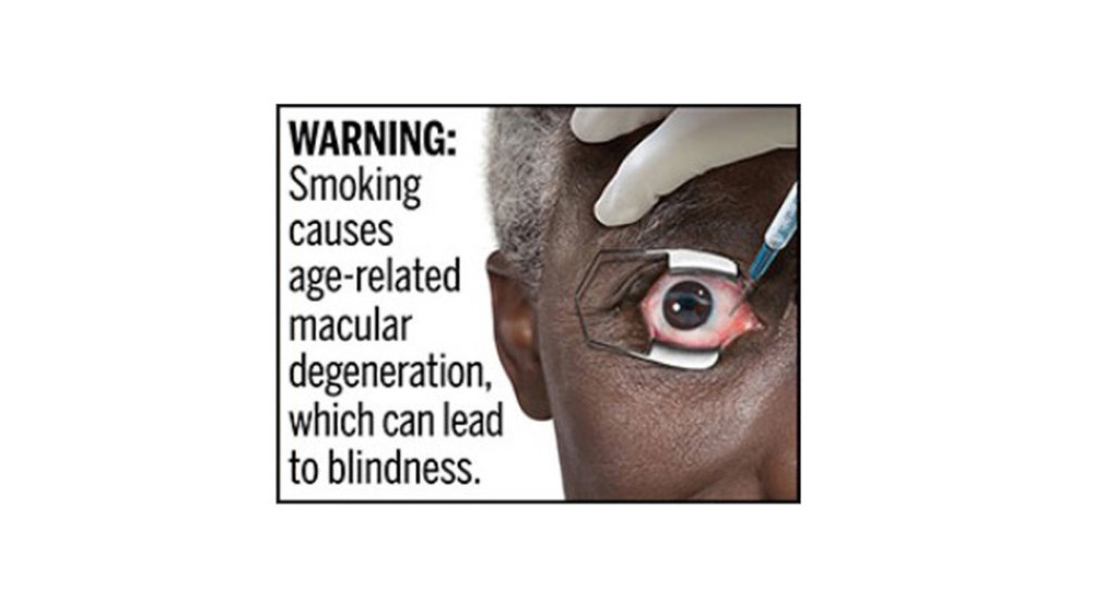 Proposed FDA Warning Label 2