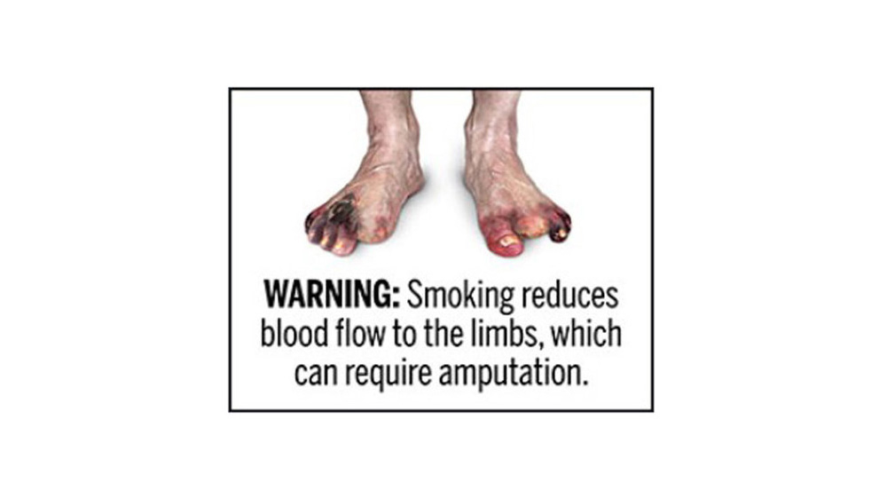 Proposed FDA Warning Label 3