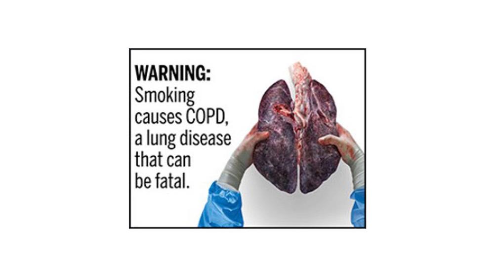 Proposed FDA Warning Label 5